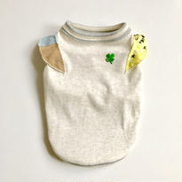 【CHARITY】〔防虫・防ダニ・抗菌〕CLOVER  CHEER♡UP! モステクトタンク  size: 3S, XXS, XS, (オートミール)style no.1707001HCPO