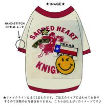 〔REMAKE〕USヴィンテージリメイク T  size: XS, S(クリーム)style no.1609001C-R