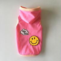 限定販売品♪〔防蚊&防ダニ〕SMILY withyou! フード付タンク size:XS(ピンク)style.no: 1606001P