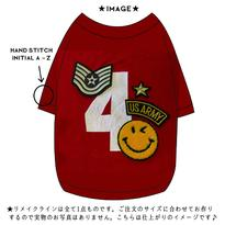 〔REMAKE〕USヴィンテージリメイク T  size: XS, S, M(レッド)style no.1609001R-R