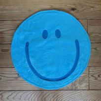 〔限定商品:5月2日発送!〕マシュマロ SMILY Café マット (ラムネ)size: 50cm x 50cm  style no. 1704003R