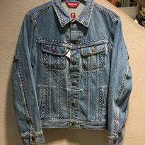 "SUPREME / Studded Denim Trucker Jacket size : L IDG ""2017S/S"""