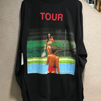 "KANYE WEST ""THE LIFE OF PABLO TOUR"" / Kim Kardashian L/S Tee size : 2XL"