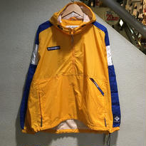 """Columbia / 90's Vintage  SPORT PULLOVER size : XL YLW """"DEADSTOCK"""""""