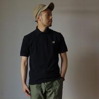 """【2016夏の新作】""""M3""""THE ORIGINAL FREDPERRY SHIRT オリジナル ノーライン ポロシャツ BLK ブラック 英国製【正規取り扱い品】"""
