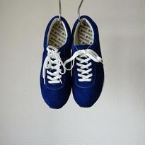 【ラスト1点!】blueover ブルーオーバー Mikey Velor マイキーベロア NAVYBLUE ネイビーブルー