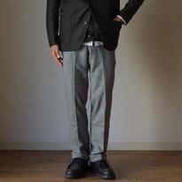 【完売御礼】arbre アルブル WOOL FLANNEL DRESS PANTS ウールフラノドレスパンツ L.GRY ライトグレー