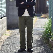 【完売御礼】Barns Outfitters SMART WIDE CHINO KHAKI バーンズアウトフィッターズ スマートワイドチノ カーキ