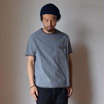 【完売御礼】Re made in tokyo japan RELAX SEER SUCKER T-SHIRT GRY  リラックスシアサッカーTシャツ グレー