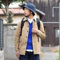 【2017春夏新作】F.O.B FACTORY  RAILROAD JK BEIGE エフオービーファクトリー レイルロードジャケット ベージュ