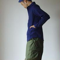 【定番アイテム】LOLO ロロ 定番プルオーバーシャツ NVY ネイビー UNISEX 男女兼用