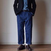 【ラスト1本!】KAFIKA  COOLMAX  ROUNGE WIDE PANTS カフィカ ラウンジワイドパンツ ネイビーブルー