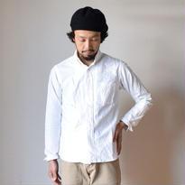 【完売御礼】nisica B.D SHIRT WHT ニシカ ボタンダウンシャツ ホワイト