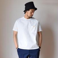 【2017春夏新作】Re made in tokyo japan RELAX SEER SUCKER T-SHIRT WHT  リラックスシアサッカーTシャツ ホワイト