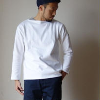 【RECOMMEND】SAINTJAMES  OUESSANT SOLID NEIGE セントジェームス ウエッソン ソリッド  ホワイト【正規取り扱い品】