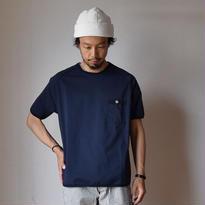 【完売御礼】Re made in tokyo japan RELAX SEER SUCKER T-SHIRT NVY  リラックスシアサッカーTシャツ ネイビー
