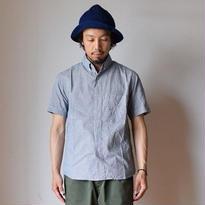 【完売御礼】nisica S/S B.D SHIRT  ニシカ 半袖ボタンダウンシャツ ギンガムチェック