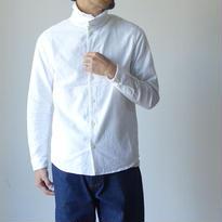 【完売御礼】nisica ニシカ TURTLE NECK SHIRT タートルネックシャツ WHT ホワイト UNISEX 男女兼用