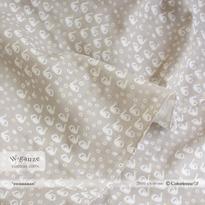 swaaaaan -soft grey (CO912464 D)【ダブルガーゼ】