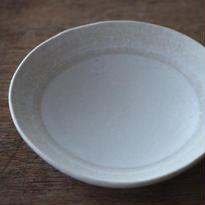 野村絵梨花 豆皿 ホワイト