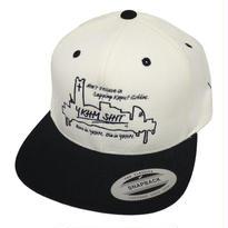 BYDY CAP WHITE/BLACK