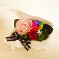 "RAINBOW ROSE ""Rainbow Rhythm"" (WHITE) レインボーローズのグランドピアノアレンジ"