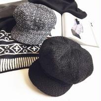 キャスケット帽[2カラー]