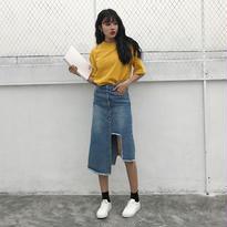 デニムロングスカート【3サイズ】