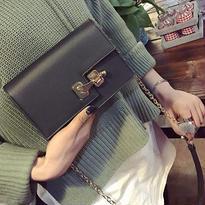 ヴィンテージデザインチェーンバッグ【5カラー】