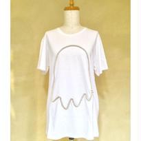 tiny dinosaur(タイニーダイナソー) 白Tシャツ