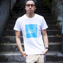 カラーパレット・ロゴTシャツ【c. 片思いブルー】
