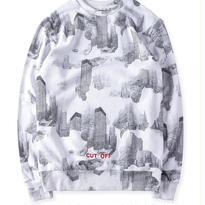 新品 数量限定  【オフホワイト OFF-WHITE】高品質 メンズ レディース 限定品 長袖 スウェット Tシャツ [OW-89]