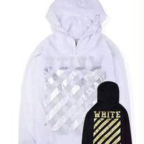 新品 数量限定  【オフホワイト OFF-WHITE】高品質 激安 メンズ レディース ファッション 長袖 通販 ジャケット パーカー アウター [OW-126]