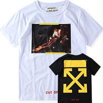 新品 数量限定  【オフホワイト OFF-WHITE】高品質 激安 メンズ レディース ファッション 通販 半袖 Tシャツ [OW-112]