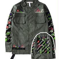 新品 数量限定  【オフホワイト OFF-WHITE】高品質 激安 メンズ レディース ファッション 通販 ジャケット アウター [OW-110]