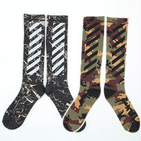 新品 数量限定  【オフホワイト OFF-WHITE】高品質 靴下 [OW-69]