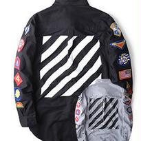 新品 数量限定  【オフホワイト OFF-WHITE】高品質 限定品 長袖 激安 メンズ レディース ファッション 通販 流行り シャツ [OW-97]