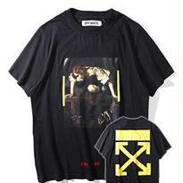 新品 数量限定   【オフホワイト OFF-WHITE】超高品質 メンズ レディース 半袖Tシャツ[OW-09]