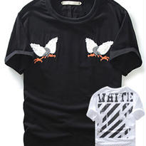 新品 数量限定  【オフホワイト OFF-WHITE】高品質 激安 メンズ レディース ファッション 半袖 通販 Tシャツ 男性服 流行り カジュアル 洋服 コーディネート  [OW-132]