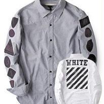 新品 数量限定  【オフホワイト OFF-WHITE】高品質 激安 メンズ ファッション 通販 シャツ [OW-90]