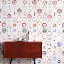 陶器プリント 壁紙 - Studio Ditte