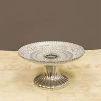 シャルマングラス コンポート/Sサイズ silver