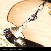 """【天然石   水晶&Glassサンキャッチャー """"Crystal Lily-Bell""""】癒し・浄化・幸運"""