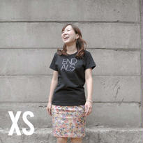 END ALS BASIC TEE BLACK (XS)