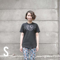 END ALS BASIC TEE BLACK (S)