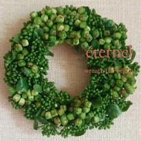 green mini wreath  φ13