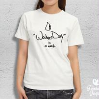 Wednesday (レディース / メンズTシャツ)