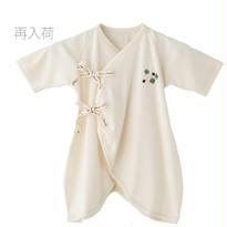 SENSE OF WONDER オーガニックコットン 日本製 クローバー 刺繍コンビ肌着