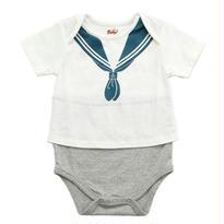Baby! セーラーフェイクTシャツボディスーツ