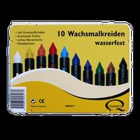 10 color Crayons / オーストリア製 蜜ろうクレヨン